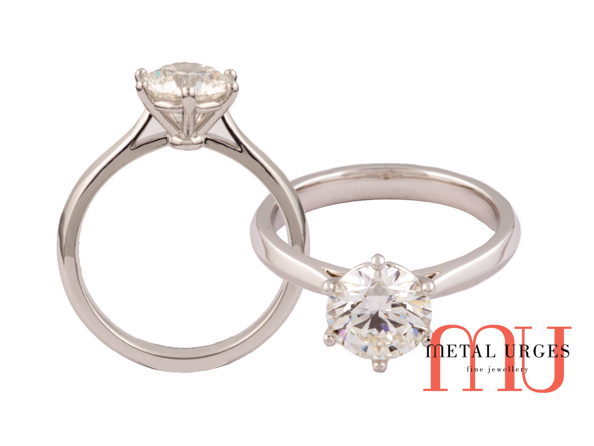 Diamond engagement rings Melbourne,