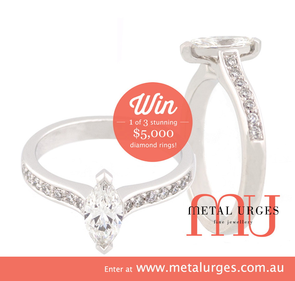 Enter our competition at www.metalurges.com.au