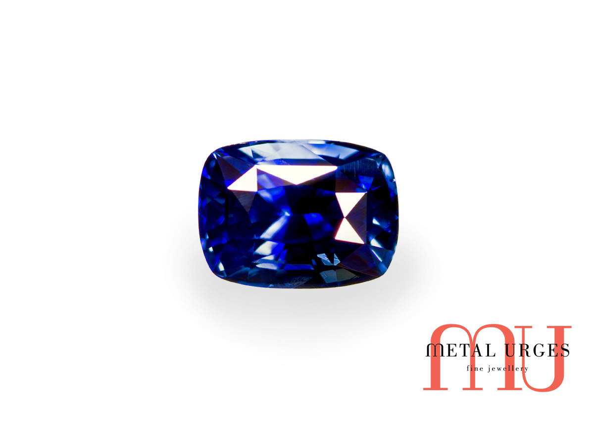 Blue sapphire natural and rare