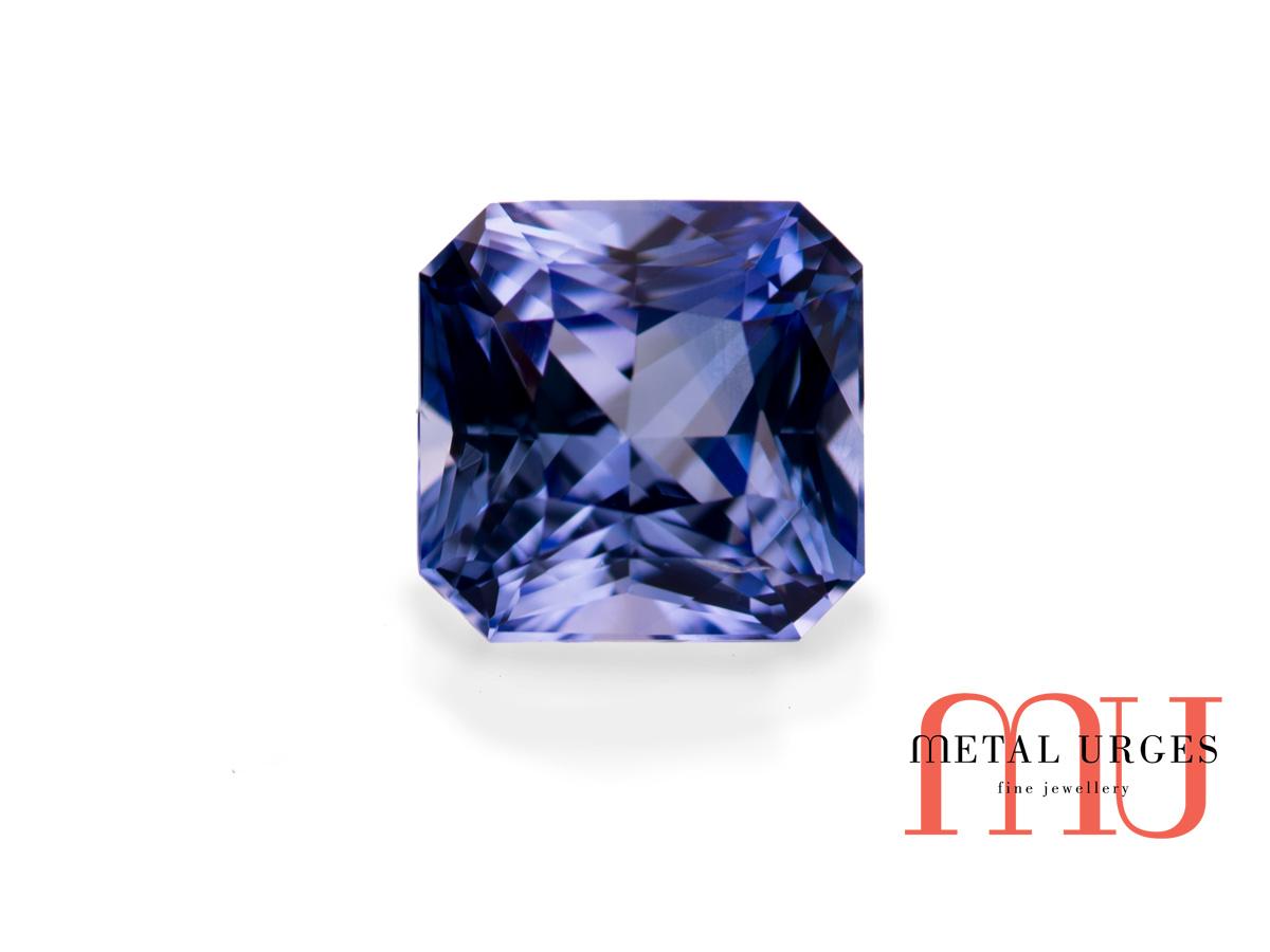 Blue Sapphire Radiant Cut Blue Sapphire Loose Gemstones