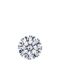 Diamond carat weight - 1/4 ct, 25 points, 4.1 mm