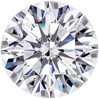 Diamond carat weight - 3 ct, 300 points, 9.9 mm