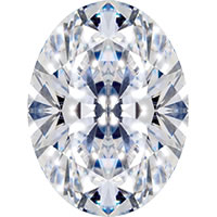 Diamond cut - Oval