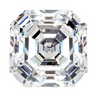 Diamond cut - Square emerald