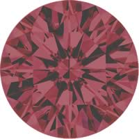 Pink diamonds - brownish pink - 1BP