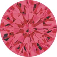 Pink diamonds - pink - 2P