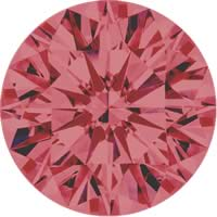 Pink diamonds - brownish pink - 4BP