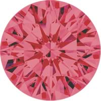 Pink diamonds - pink - 4P