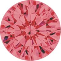 Pink diamonds - pink - 5P