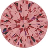 Pink diamonds - brownish pink - 6BP