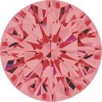 Pink diamonds - pink - 6P