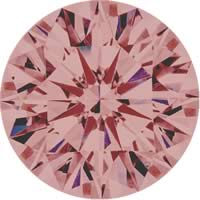 Pink diamonds - brownish pink - 7BP