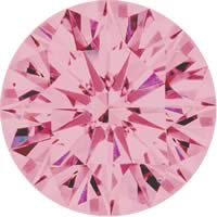 Pink diamonds - purple pink - 7PP