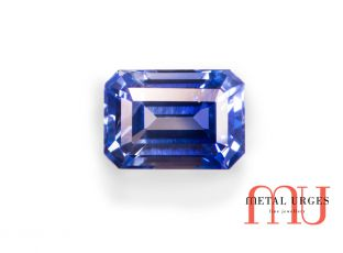 Natural sapphire, Radiant cut Jewellers Hobart, Melbourne