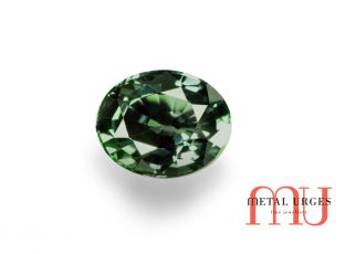 Natural Green sapphire, Oval cut Jewellers Hobart, Melbourne