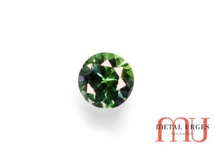Natural Green sapphire, Brilliant cut Jewellers Hobart, Perth