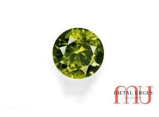 Natural Green sapphire, brilliant Cut Jewellers Hobart, Sydney