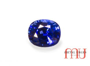 Natural sapphire, oval cut