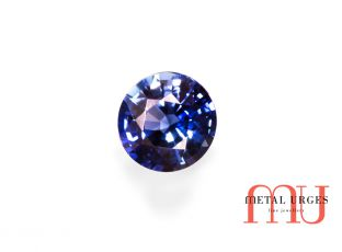 Natural sapphire, modified brilliant cut